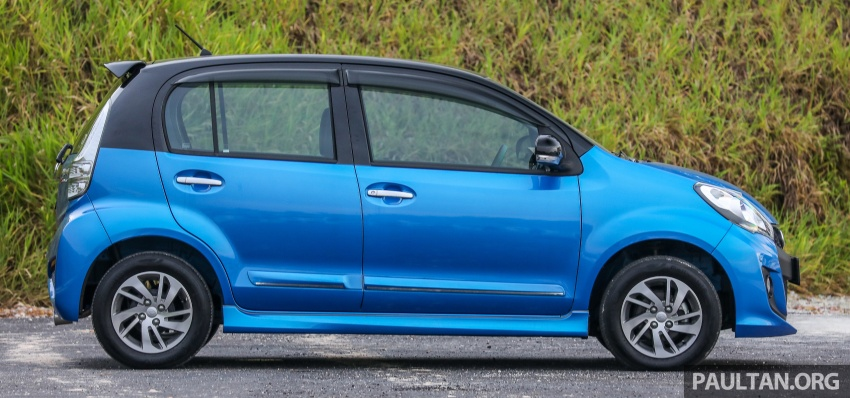 GALLERY: Perodua Myvi Advance 1.5 – 2018 vs 2015 Image #741646