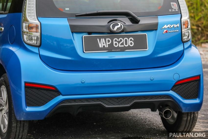 GALLERY: Perodua Myvi Advance 1.5 – 2018 vs 2015 Image #741668