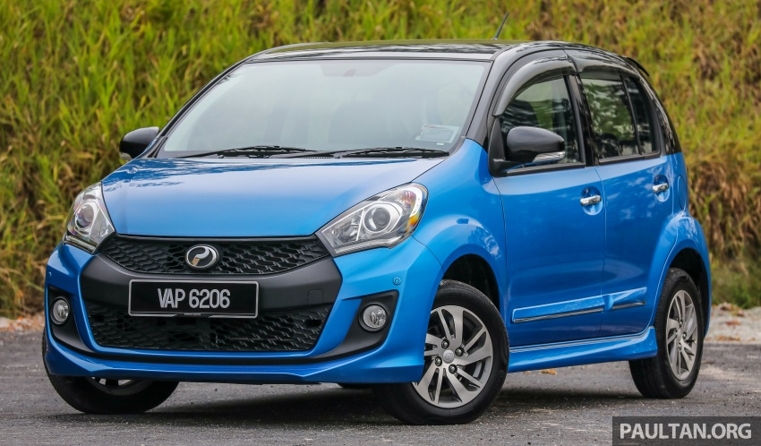 GALLERY: Perodua Myvi Advance 1.5 – 2018 vs 2015 Image #741638