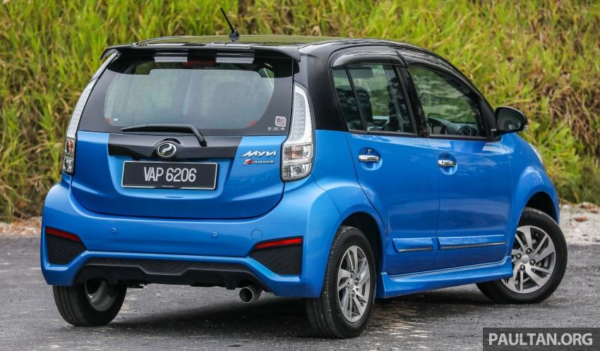 GALLERY: Perodua Myvi Advance 1.5 – 2018 vs 2015 Image #741639