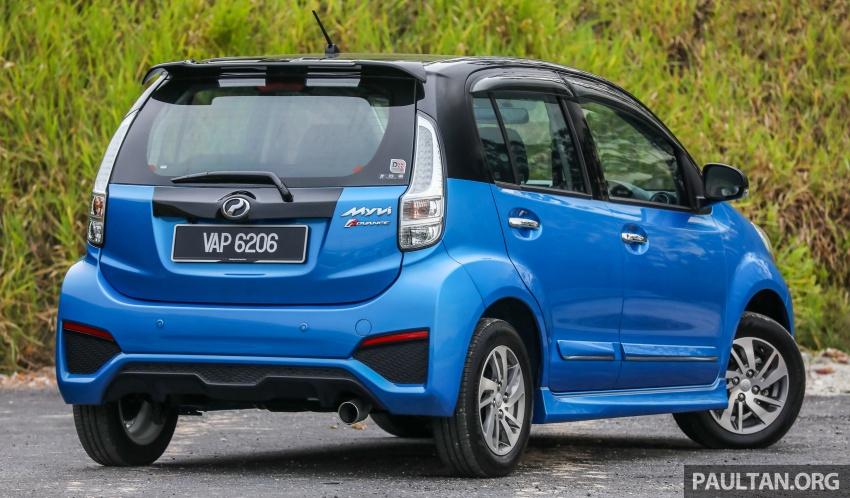 GALLERY: Perodua Myvi Advance 1.5 – 2018 vs 2015 Image #741641