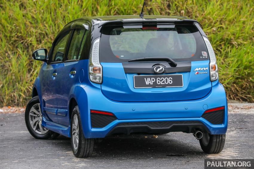 GALLERY: Perodua Myvi Advance 1.5 – 2018 vs 2015 Image #741642