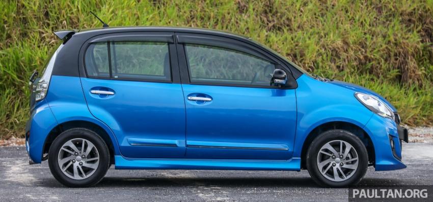 GALLERY: Perodua Myvi Advance 1.5 – 2018 vs 2015 Image #741645