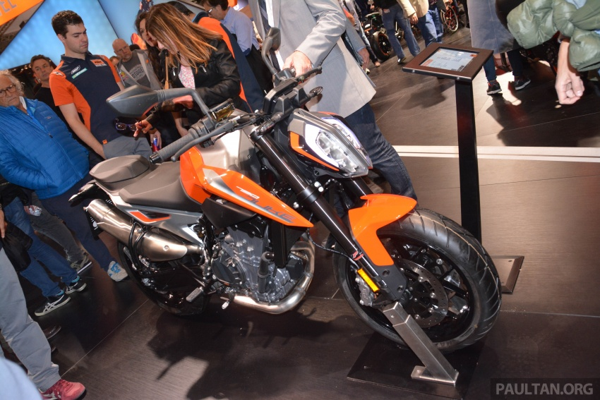 "2017 EICMA: KTM 790 Duke ""The Scalpel"" – but is the KTM 790 Adventure R off-roader coming in 2019? Image #741028"