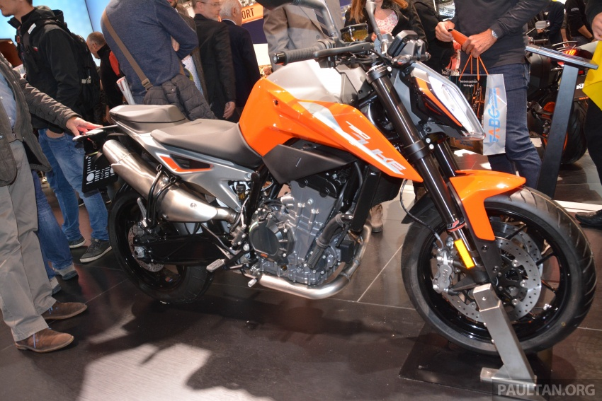 """2017 EICMA: KTM 790 Duke """"The Scalpel"""" – but is the KTM 790 Adventure R off-roader coming in 2019? Image #741042"""