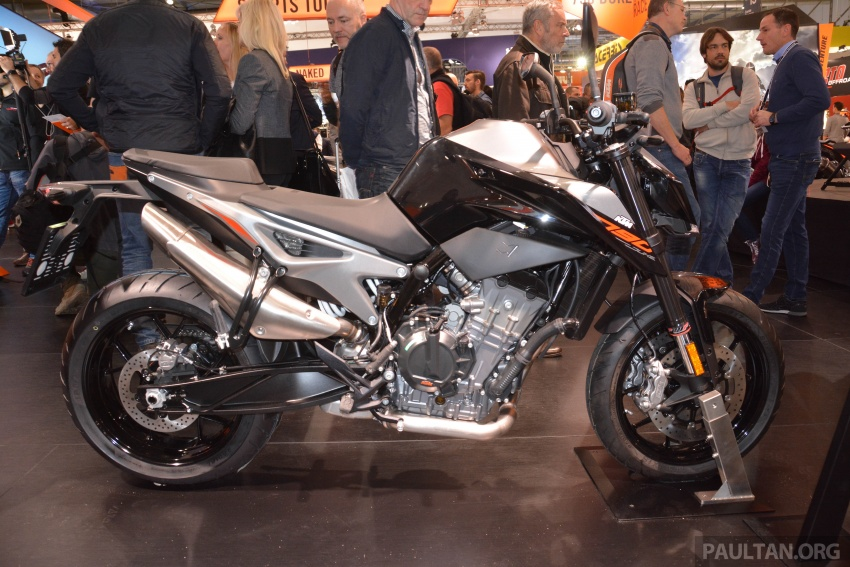 """2017 EICMA: KTM 790 Duke """"The Scalpel"""" – but is the KTM 790 Adventure R off-roader coming in 2019? Image #741029"""