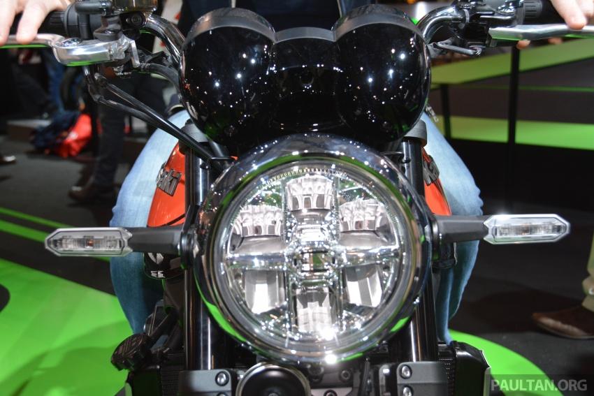 2017 EICMA: Kawasaki Z900RS – retro sportbike vibes Image #737061