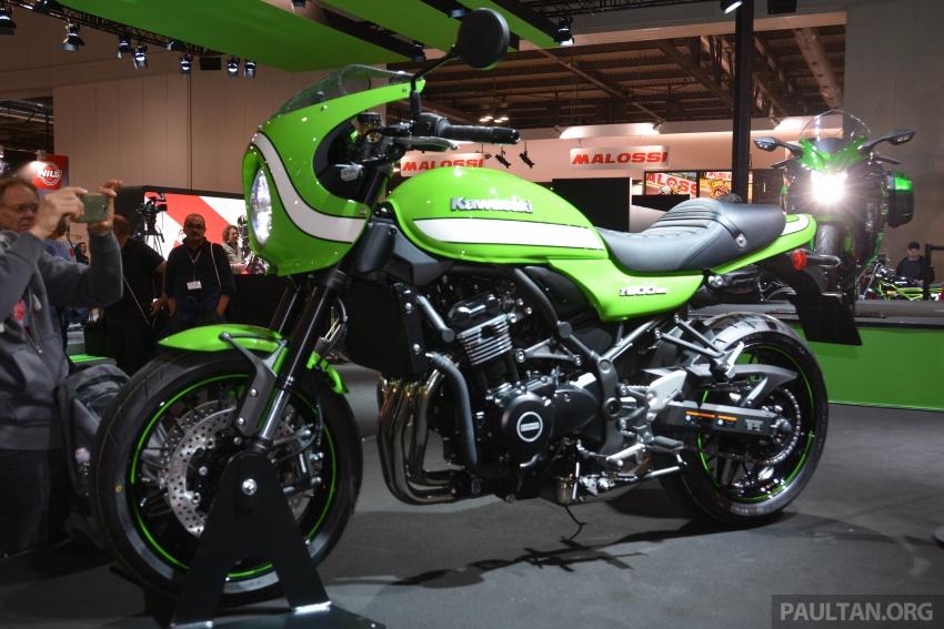 2017 EICMA: Kawasaki Z900RS – retro sportbike vibes Image #737071