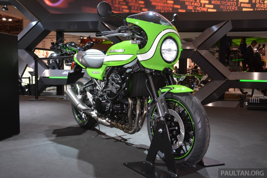 2017 EICMA: Kawasaki Z900RS – retro sportbike vibes Image #737073