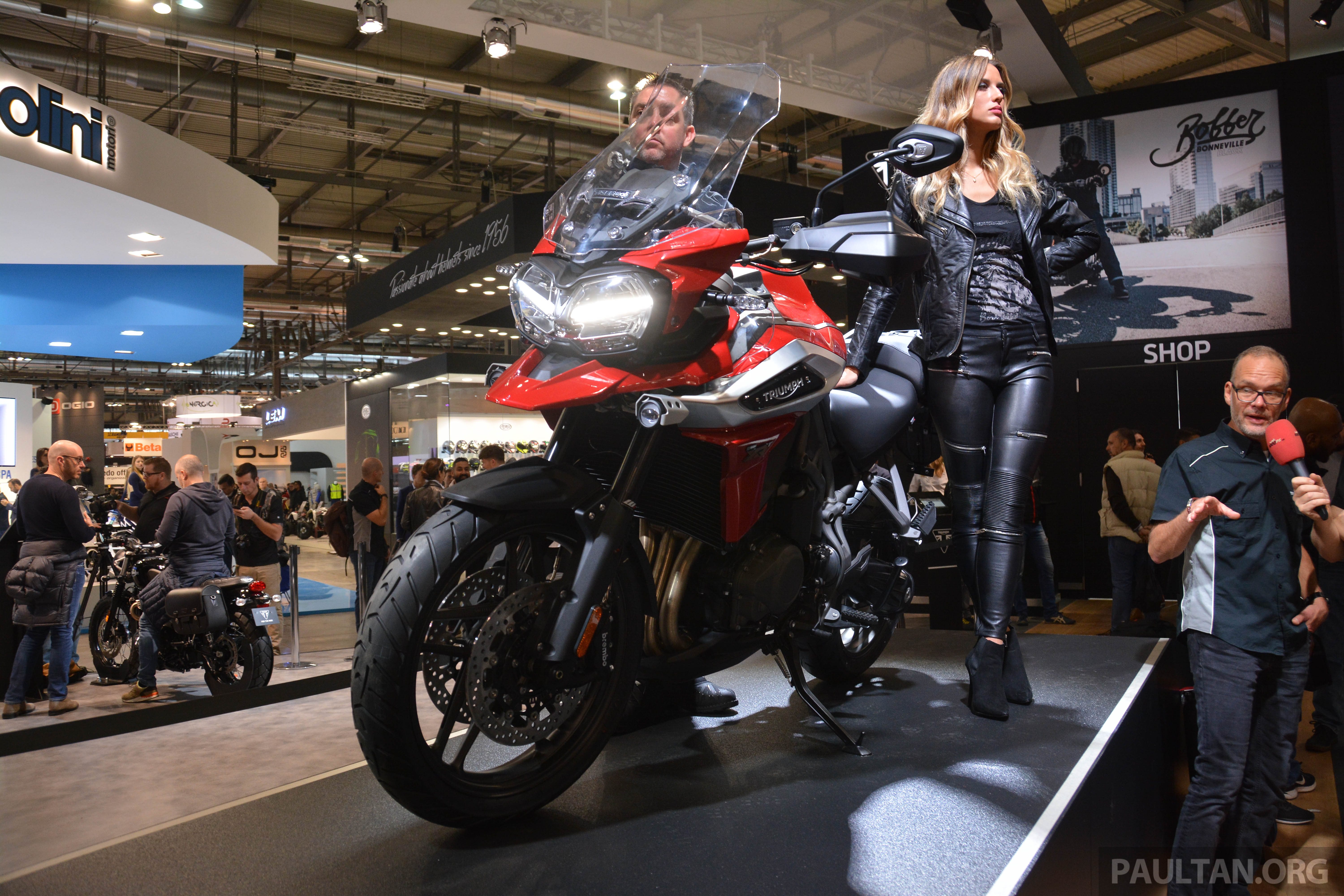 Eicma 2017 Triumph Tiger 1200 And Tiger 800 Xc And Xr