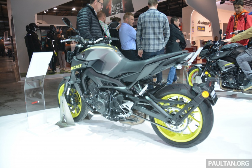 EICMA 2017: Yamaha MT-09 SP, darkness made better Image #737557