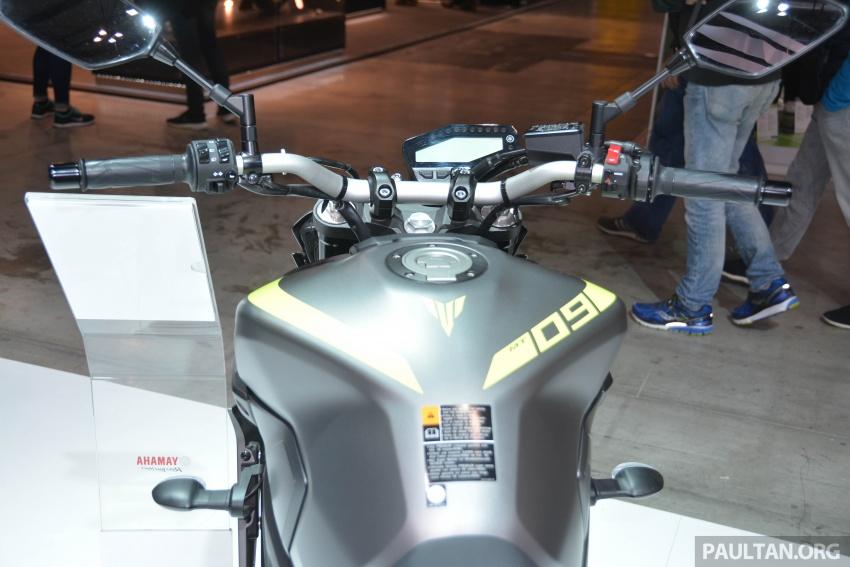 EICMA 2017: Yamaha MT-09 SP, darkness made better Image #737571