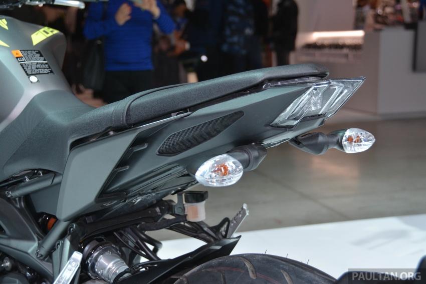 EICMA 2017: Yamaha MT-09 SP, darkness made better Image #737573