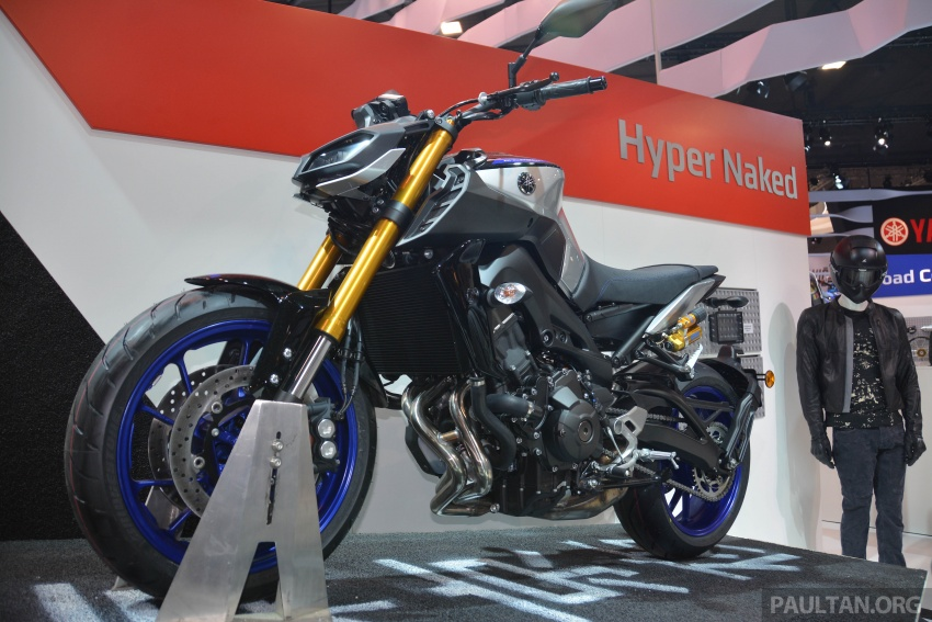 EICMA 2017: Yamaha MT-09 SP, darkness made better Image #737575