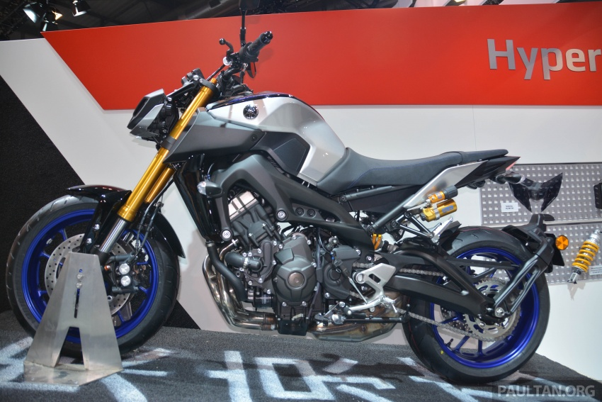EICMA 2017: Yamaha MT-09 SP, darkness made better Image #737576