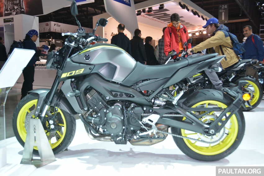 EICMA 2017: Yamaha MT-09 SP, darkness made better Image #737559