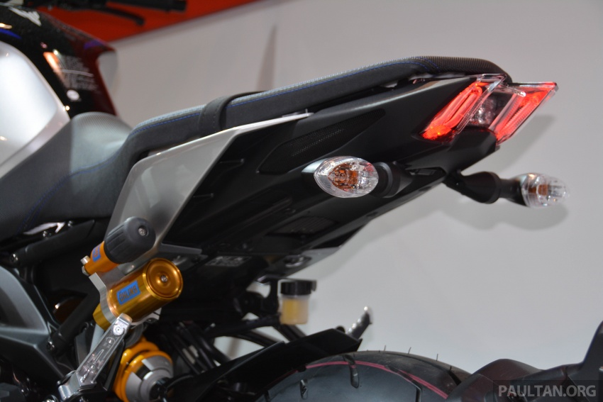 EICMA 2017: Yamaha MT-09 SP, darkness made better Image #737584