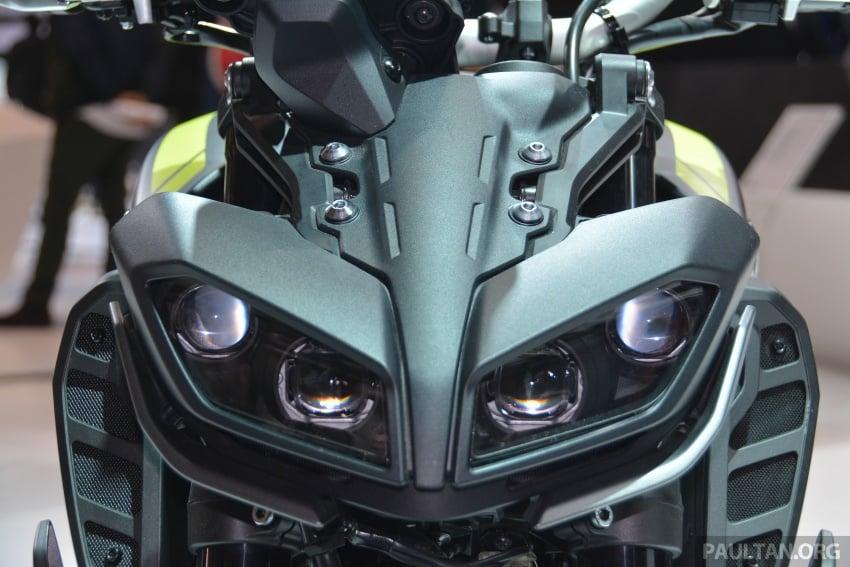 EICMA 2017: Yamaha MT-09 SP, darkness made better Image #737560