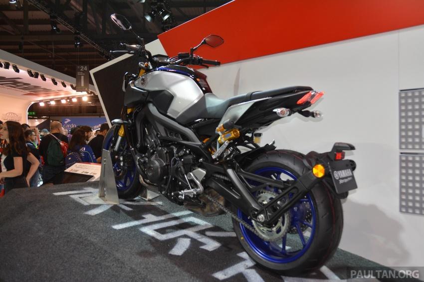 EICMA 2017: Yamaha MT-09 SP, darkness made better Image #737590