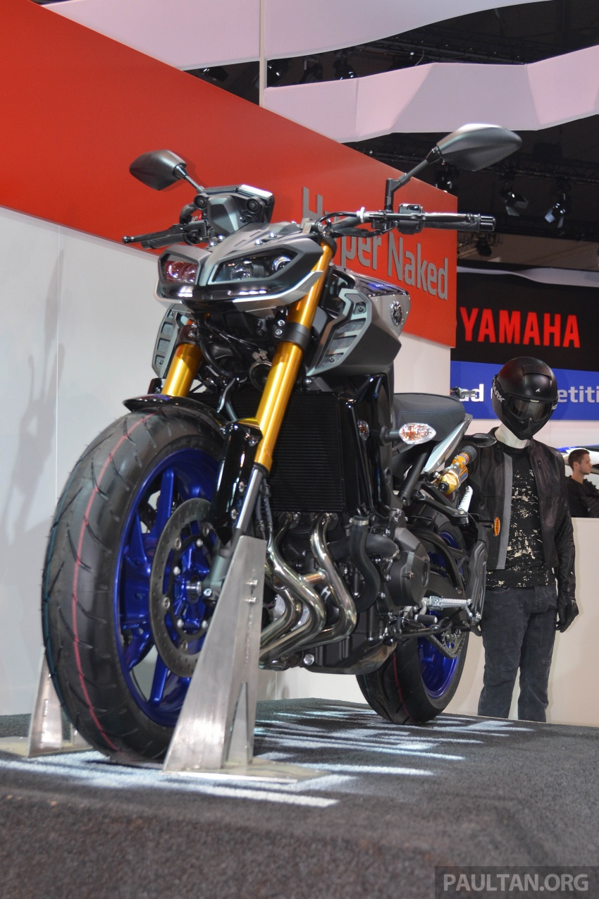 EICMA 2017: Yamaha MT-09 SP, darkness made better Image #737591