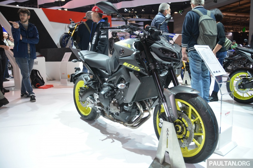 EICMA 2017: Yamaha MT-09 SP, darkness made better Image #737562