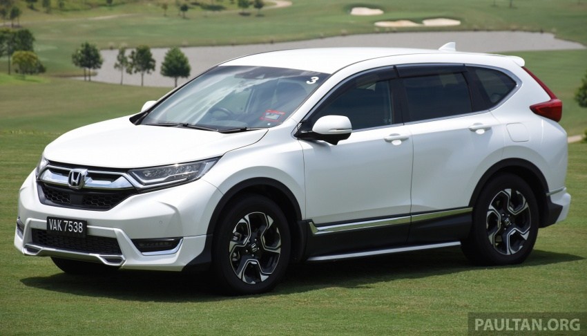 DRIVEN: 2017 Honda CR-V – top of the class, again Image #737177