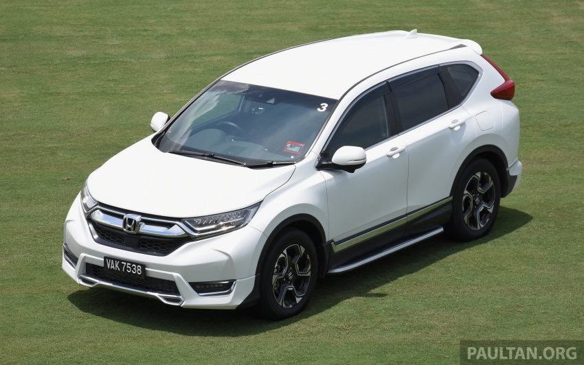 DRIVEN: 2017 Honda CR-V – top of the class, again Image #737186