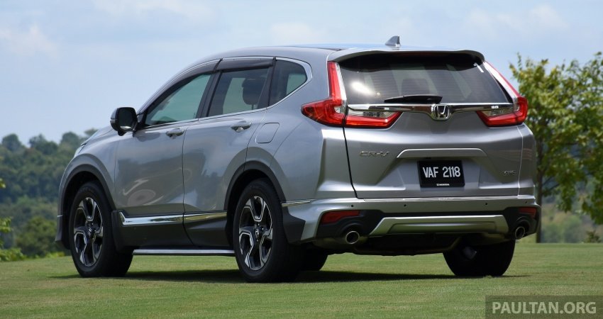 DRIVEN: 2017 Honda CR-V – top of the class, again Image #737188