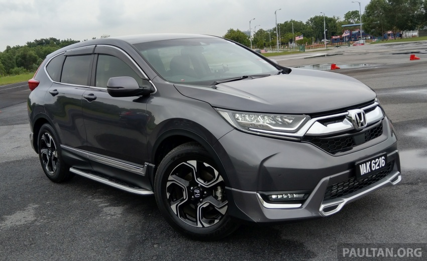 DRIVEN: 2017 Honda CR-V – top of the class, again Image #737189