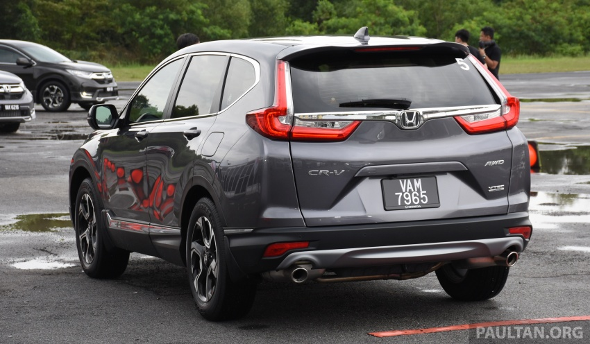 DRIVEN: 2017 Honda CR-V – top of the class, again Image #737193