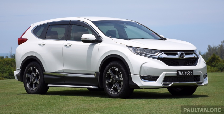 DRIVEN: 2017 Honda CR-V – top of the class, again Image #737178