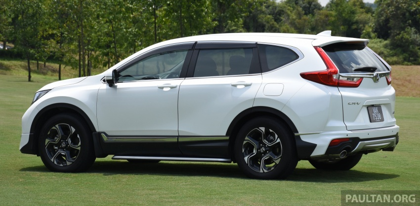 DRIVEN: 2017 Honda CR-V – top of the class, again Image #737180