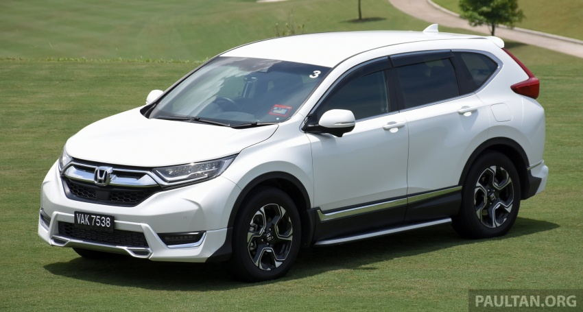 DRIVEN: 2017 Honda CR-V – top of the class, again Image #737182