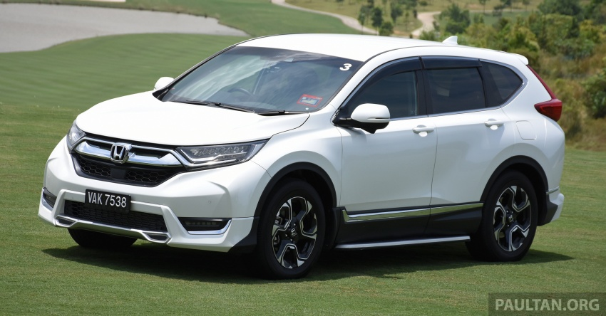 DRIVEN: 2017 Honda CR-V – top of the class, again Image #737184