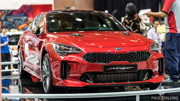 kia stinger gt 3 3l turbo v6 previewed in malaysia. Black Bedroom Furniture Sets. Home Design Ideas