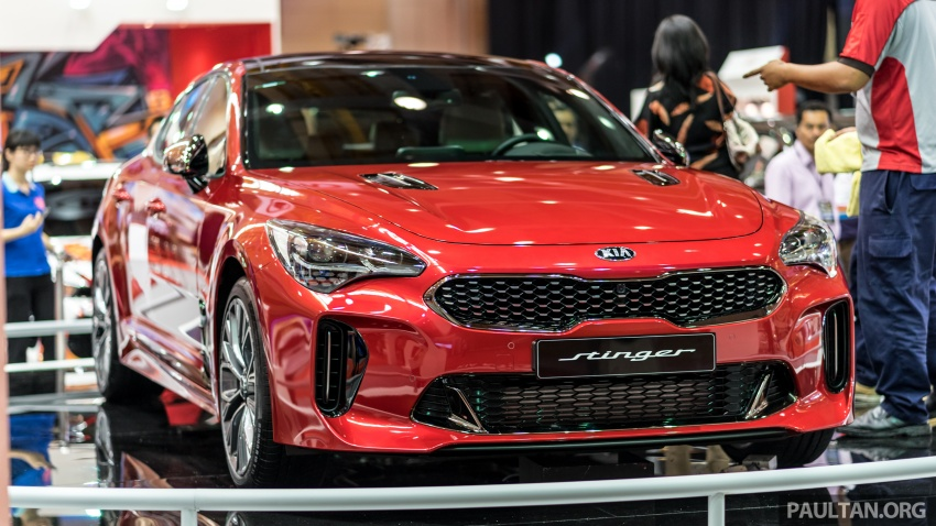 Kia Stinger GT 3.3L turbo V6 previewed in Malaysia Paul ...