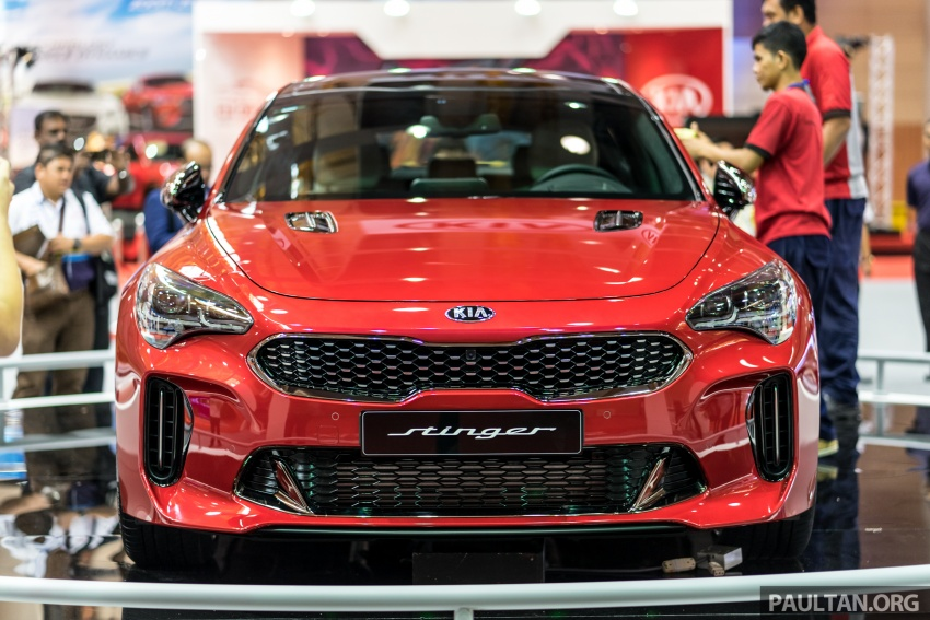 kia stinger gt coming to m 39 sia 365 hp 3 3l v6 turbo. Black Bedroom Furniture Sets. Home Design Ideas