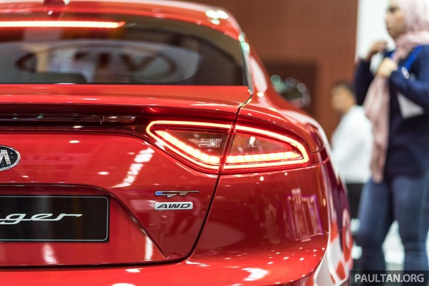 Kia Stinger buat penampilan sulung umum di Malaysia – adakah ia benar-benar akan dilancarkan pada 2018? Image #735391