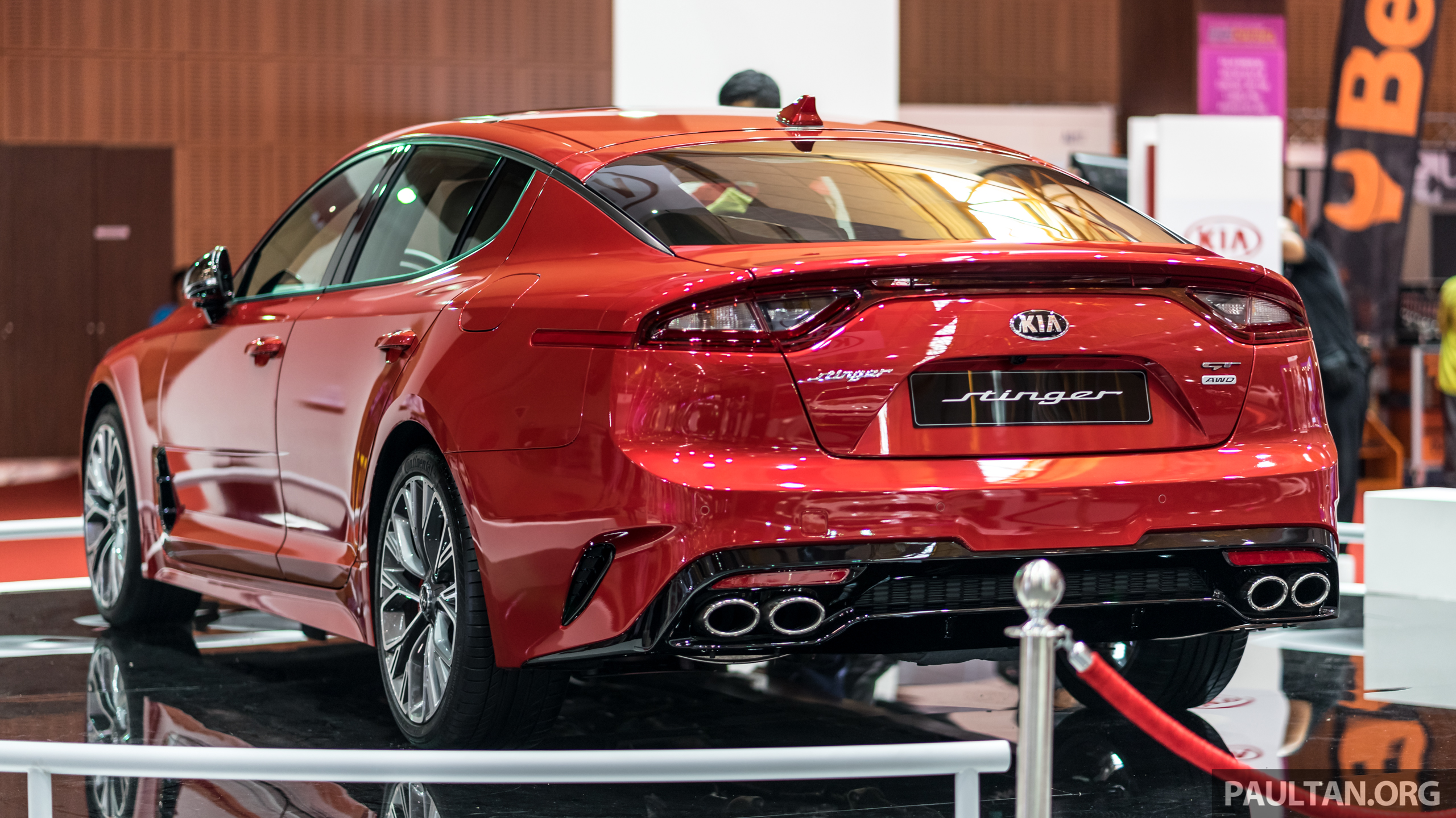 kia stinger gt 3 3l turbo v6 previewed in malaysia image 735137. Black Bedroom Furniture Sets. Home Design Ideas