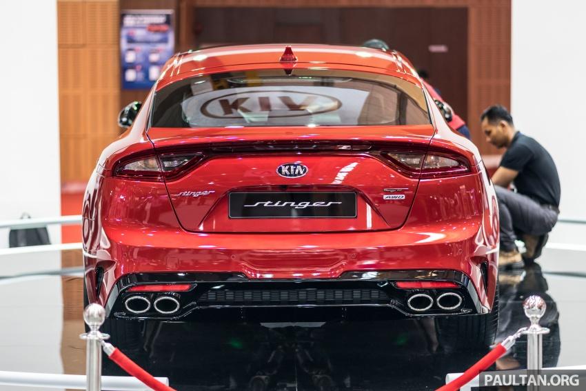 Kia Stinger GT 3.3L turbo V6 previewed in Malaysia Image #735138