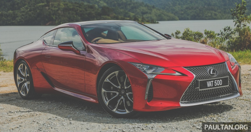GALLERY: Lexus LC 500 in Malaysia – RM940,000 Image #744891