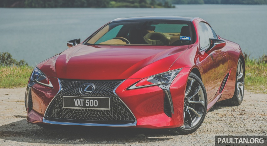 GALLERY: Lexus LC 500 in Malaysia – RM940,000 Image #744892