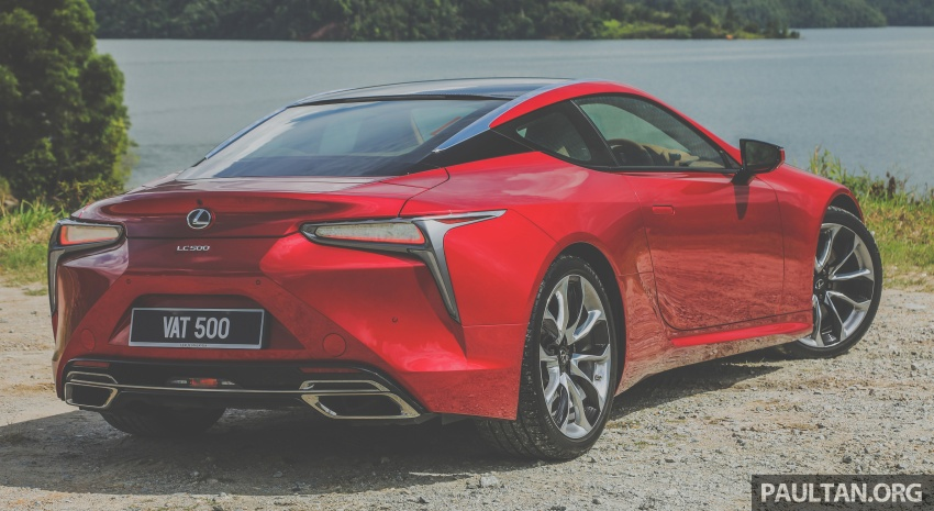 GALLERY: Lexus LC 500 in Malaysia – RM940,000 Image #744893