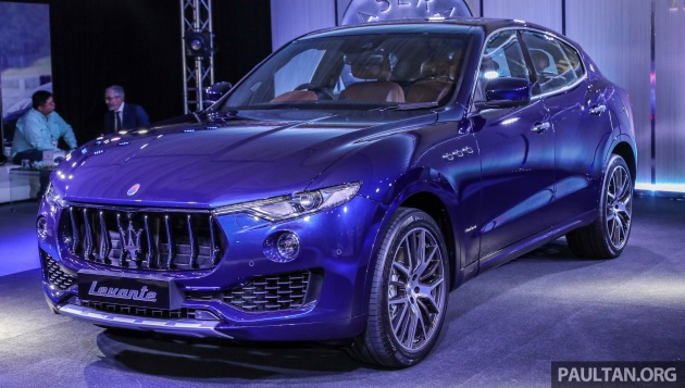 Maserati Levante S Launched In Malaysia Granlusso And Gransport Trims Prices Start From Rm789k