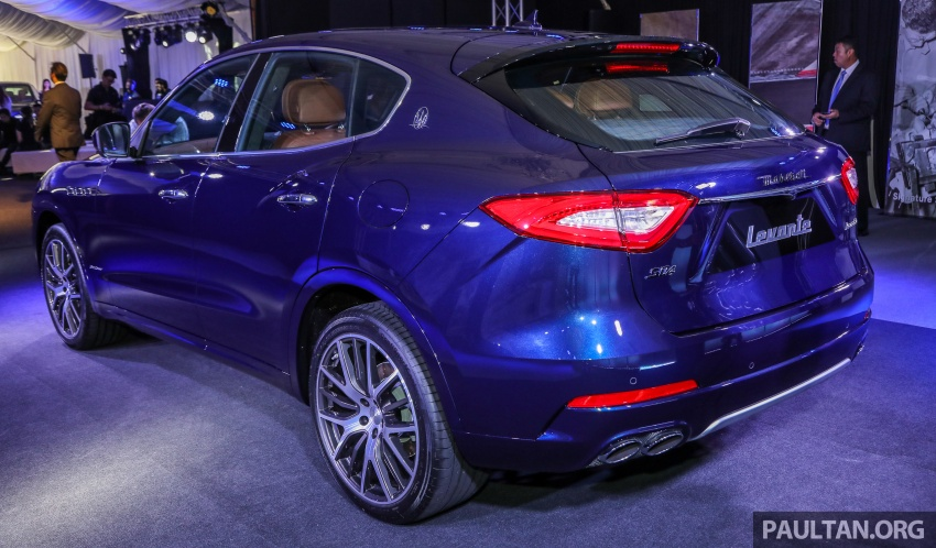 Maserati Levante S launched in Malaysia – GranLusso and GranSport trims, prices start from RM789k Image #743240
