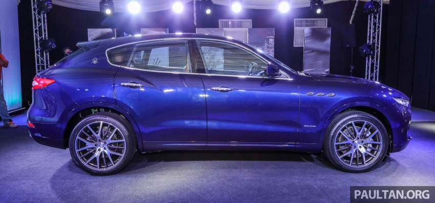 Maserati Levante S launched in Malaysia – GranLusso and GranSport trims, prices start from RM789k Image #743242