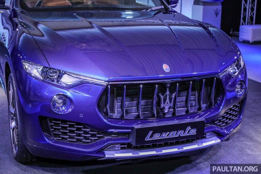 Maserati Levante S launched in Malaysia – GranLusso and GranSport trims, prices start from RM789k Image #743245