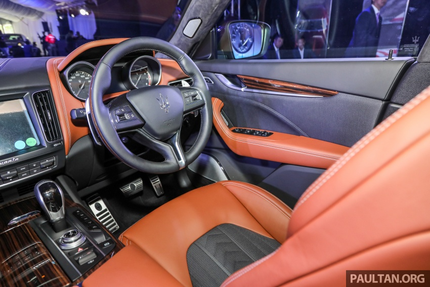 Maserati Levante S launched in Malaysia – GranLusso and GranSport trims, prices start from RM789k Image #743317