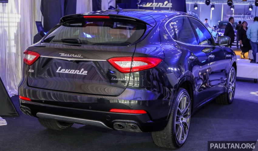 Maserati Levante S launched in Malaysia – GranLusso and GranSport trims, prices start from RM789k Image #743387