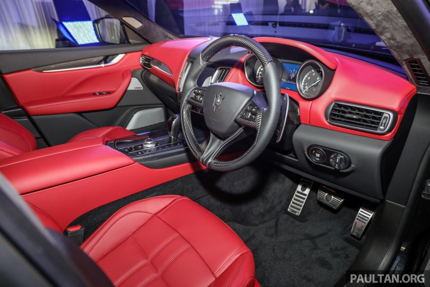 Maserati Levante S launched in Malaysia – GranLusso and GranSport trims, prices start from RM789k Image #743401